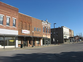 Dawson Springs, Kentucky - Railroad Avenue downtown