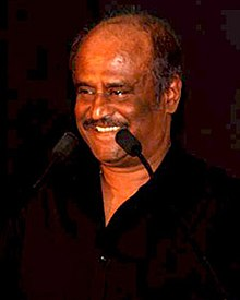 Rajinikanth during audio release of robot.jpg