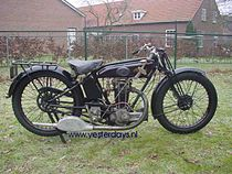 Raleigh Type 6 Sports 350 cc uit 1926