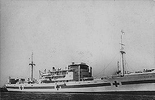 Italian hospital ship <i>Ramb IV</i>