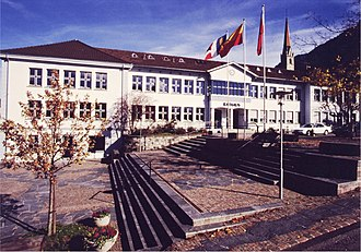 Schaan - Image: Rathaus Schaan