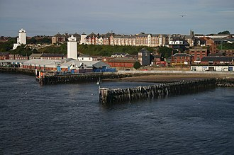 North Shields - High and Low lights, new and old