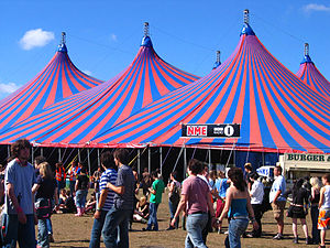 NME Radio - Radio 1/NME tent at the 2005 Reading Festival
