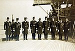 Rear Admiral Frank F. Fletcher and staff September 1914 (25246560136).jpg