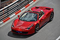 Red Ferrari 458 Spider in Monaco 2012.jpg