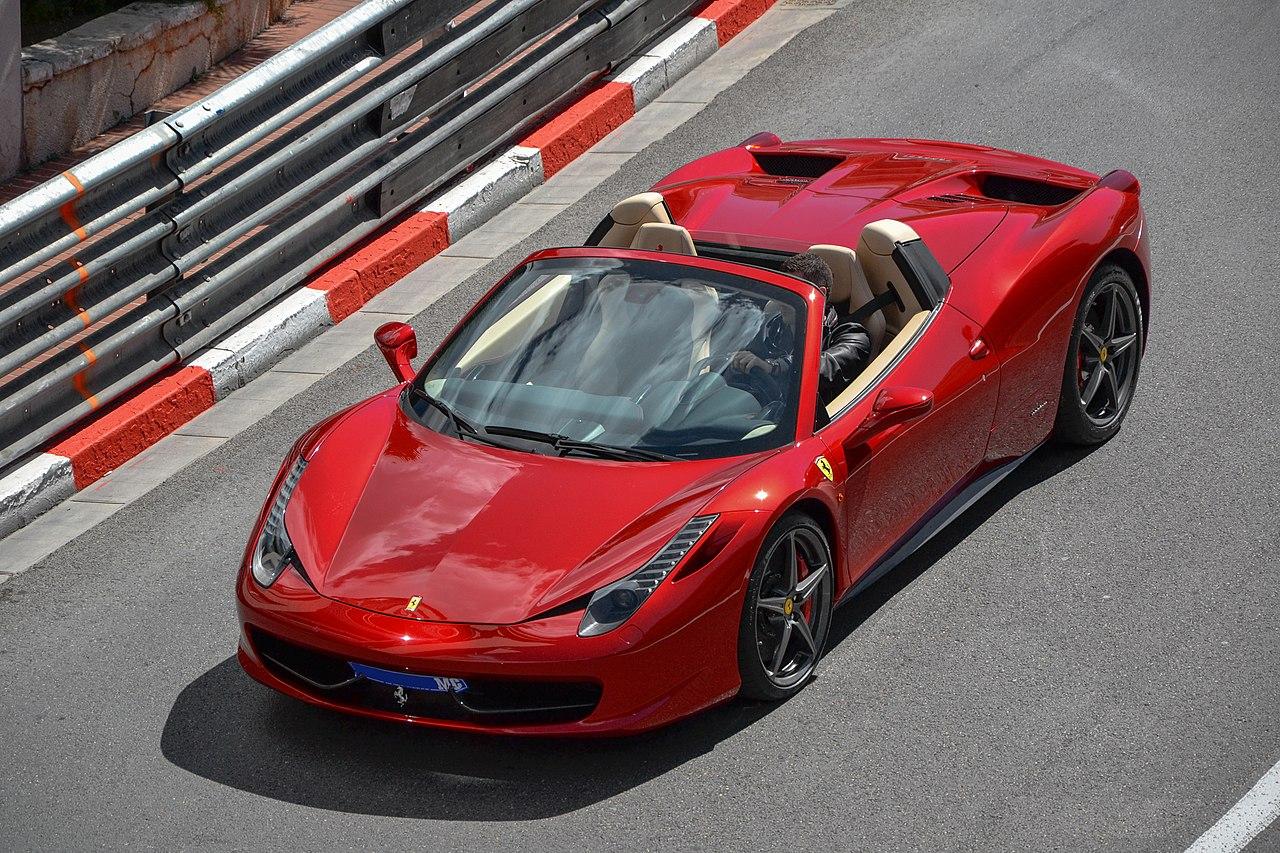 File:Red Ferrari 458 Spider in Monaco 2012.jpg - Wikimedia ...  Ferrari 458 Spider Red