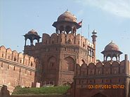 Red Fort in Delhi from a different angle