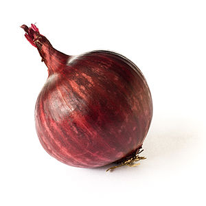 Red onion - A red onion