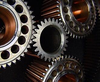 Pratt & Whitney Canada PT6 - Image: Reduction Gear