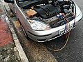 Regassing the aircon of a Ford Focus 2017 03.jpg