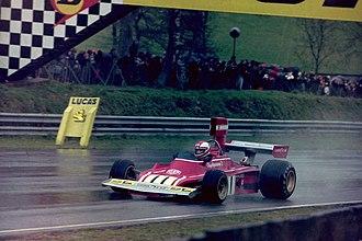 Ferrari 312B - Clay Regazzoni driving a 312B3 at the 1974 Race of Champions