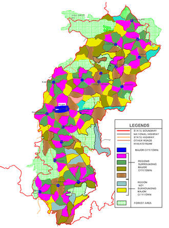 Unified settlement planning - The regional modules in Chhattisgarh(India)