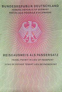 Reiseausweis als Passersatz – Wikipedia