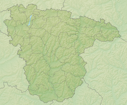 Location map Voronežo sritis