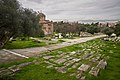 Remains of the Panathenaic Way in the Ancient Agora of Athens on January 22, 2021.jpg