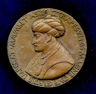 Bertoldo di Giovanni - Mehmed the Conqueror. Medal of Bertoldo di Giovanni. Electrotype