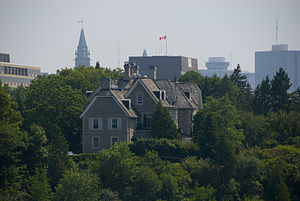 24 Sussex Drive - North-east façade of 24 Sussex Drive