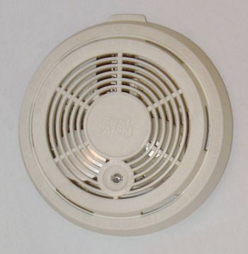 English: Residential smoke detector