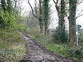 Restricted byway to Upper Basildon - geograph.org.uk - 746130.jpg