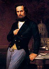 Portrait of the architect Lorenzo de la Hidalga (1810-1872)