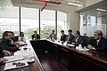 Reunión con el Vicepresidente de Relaciones Internacionales de Hankuk University of Foreign Studies (9085665014).jpg