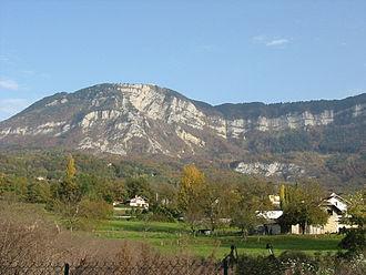 Mont Revard - Image: Revard depuis Aix