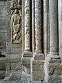 Rey David, Santiago de Compostela. Fachada de Platerías.jpg