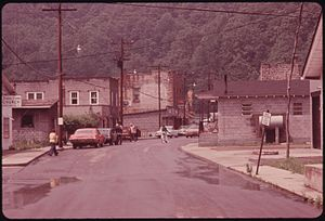 Rhodell, West Virginia - Rhodell in 1974