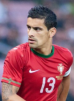 Ricardo Costa - Croatia vs. Portugal, 10th June 2013 (cropped).jpg