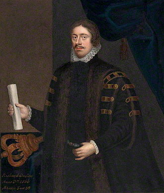 Richard Onslow (Solicitor General) - Possibly fictitious portrait of Richard Onslow