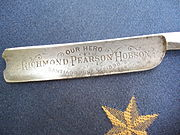 Richmond Pearson Hobson promotional straight razor