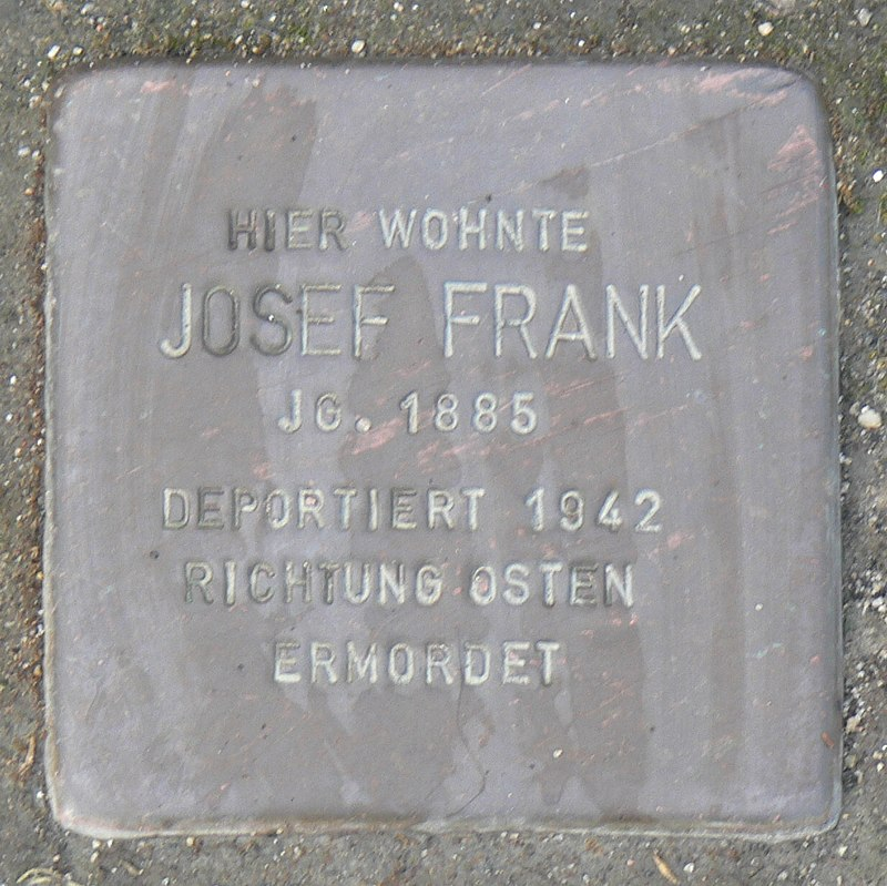 Rimpar Stolperstein Frank, Josef.jpg