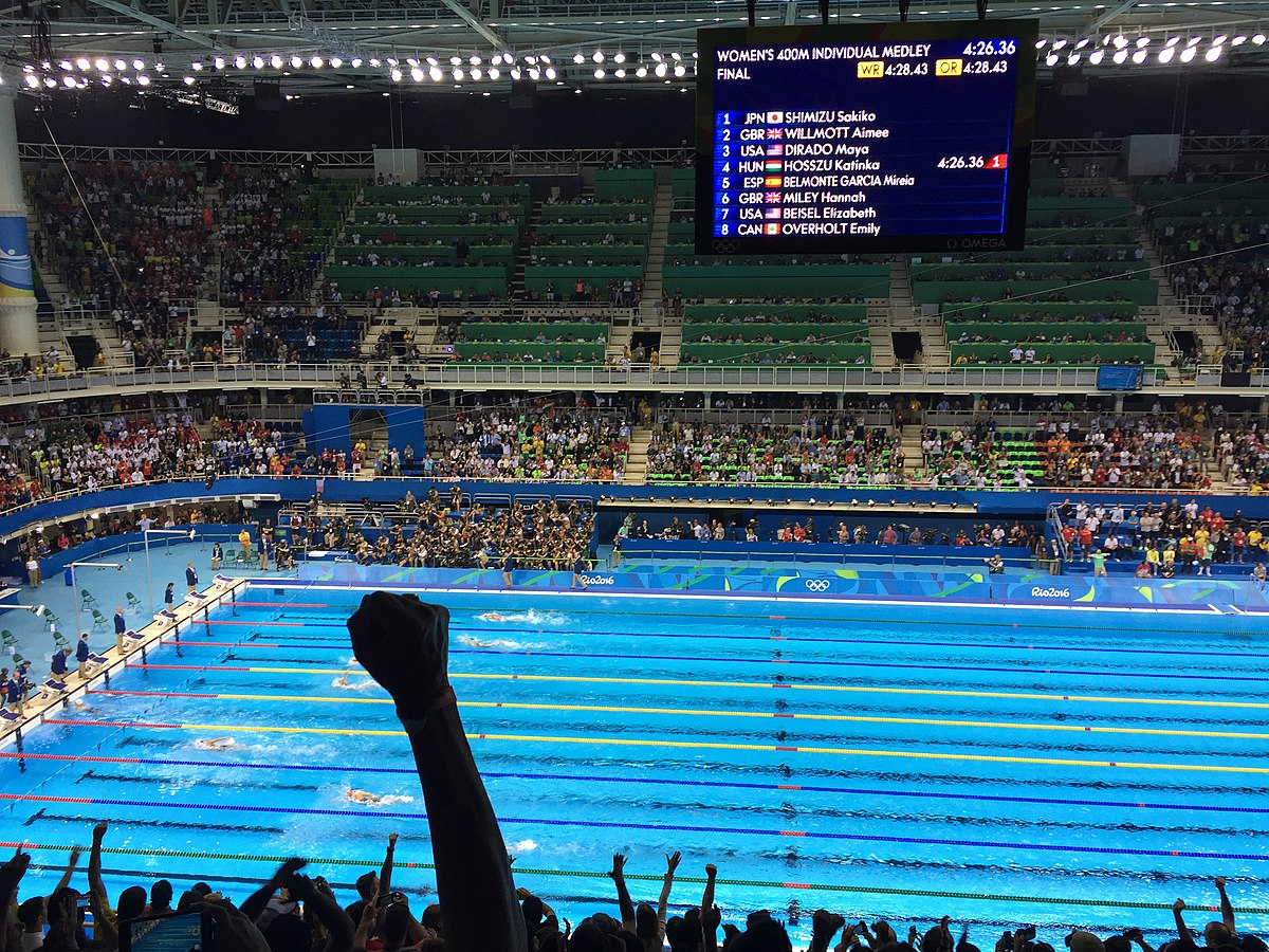 swimming at the 2016 summer olympics womens 400 metre individual medley wikipedia - Olympic Swimming Pool 2016