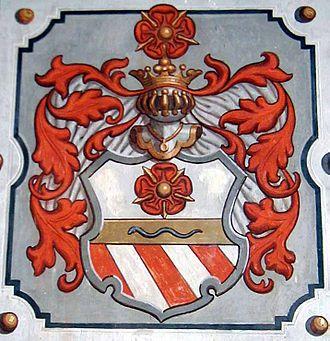 Rosenberg family - Later arms of the Rosenberg family