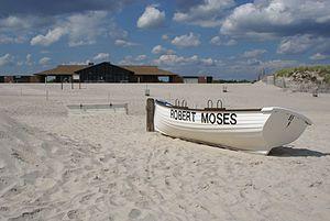 Robert Moses State Park (Long Island) - Image: Robert Moses Field 4 Deserted Beach