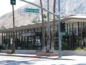 J. W. Robinson's - This building, opening in 1958, housed Robinson's in Palm Springs and was designed by Pereira & Luckman
