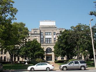 Rock Island County, Illinois - Image: Rock Island County Courthouse Rock Island, Illinois