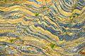 Rock Patterns at Castle Beach, Falmouth 1 (2770444277).jpg
