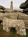 Rocks and monument, Carn Brea - geograph.org.uk - 1186247.jpg
