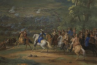 Battle of Rocroi - Duc d'Enghien at the Battle of Rocroi