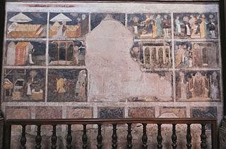 scènes de la vie de saint Eloi à Rodez