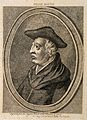 Roger Bacon. Stipple engraving, 1786. Wellcome V0000285.jpg
