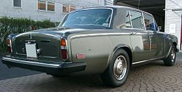 Rolls Royce Silver Shadow II rear 20070919.jpg