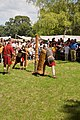Roman Legion training with wooden weapons 02.jpg