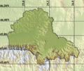 Romania Brasov Location map physical.png
