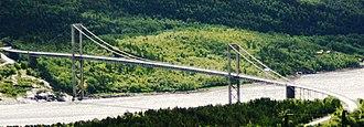 Rombaken - Image: Rombak Bridge 2