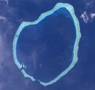 Roncador Reef island in Solomon Islands