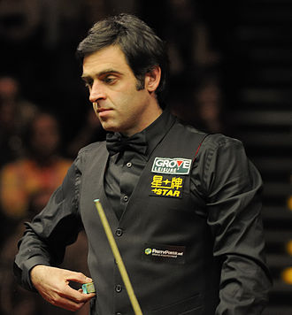 Snooker world rankings 2004/2005 - Image: Ronnie O'Sullivan at German Masters Snooker Final (Der Hexer) 2012 02 05 26