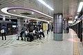 Roppongi-itchome Station Namboku Line Platform 2018.jpg