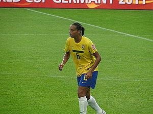 Rosana dos Santos Augusto - Rosana at the 2011 FIFA Women's World Cup